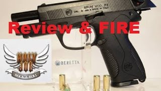 getlinkyoutube.com-BRUNI P4 9mm Review & Live Fire (HJRR) Beretta P4 Replica