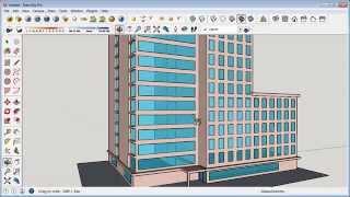 getlinkyoutube.com-Sketchup Building Design Tutorial