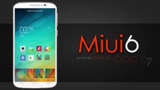 getlinkyoutube.com-Miui6 Review - Alcatel Pop C7 Kitkat 4.4