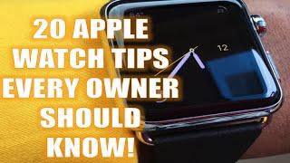 getlinkyoutube.com-21 Amazing Apple Watch Tips [Updated for iOS9!]