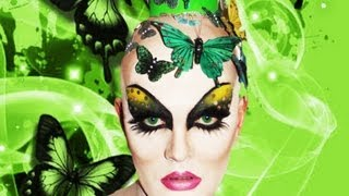 getlinkyoutube.com-Nina Flowers -  Ru Pauls Drag Race Makeup Tutorial!