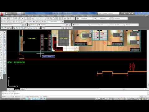 AutoCAD Aula 25: Como ajustar a escala e a unidade de um bloco (SCALE)