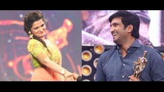 getlinkyoutube.com-Santhanam says,Divyadarshini (DD) is torturing in Vijay Awards