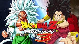 getlinkyoutube.com-DBZB3: Goku SSJ5 VS Broly SSJ4 (Duels)