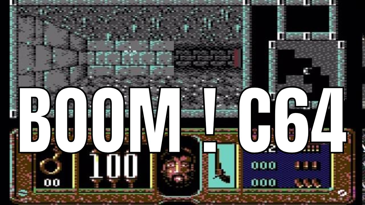 Boom C64 3D Dungeon Crawler