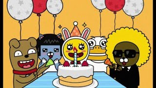 getlinkyoutube.com-재미있는 생일축하송