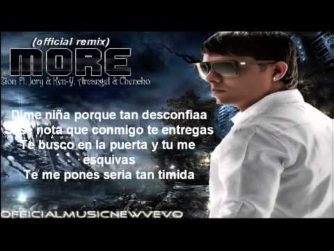 More (Remix) (Official Letra)   Zion Ft Jory  Ken Y, Chencho