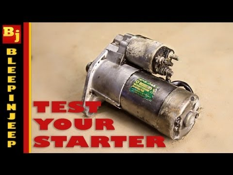 My Car Wont Turn Over - How To Test The Starter/NSS/Ignition Switch