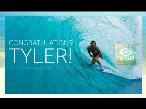 Tyler Wright Claims 2011 ASP Women's Rookie of the Year