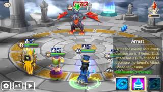 getlinkyoutube.com-Summoners War : Akhamamir (wind Ifrit ) Arena test 4 round