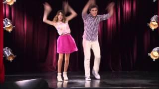 getlinkyoutube.com-Violetta 2 Staffel Folge 70 / Leon und Violetta tanzen Leonetta Moment^^