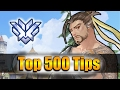 How GRANDMASTER Players DESTROY with Hanzo - Overwatch Top 500 PRO Tricks | Seagull
