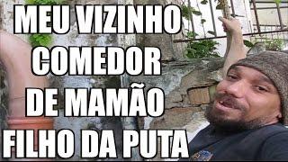 VIZINHO QUEBRA MEU MURO COM SEMENTE DE MAMÃO