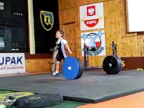 Baby Weightlifter, 4 Years old, 9 kg