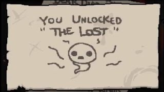 getlinkyoutube.com-The Binding Of Isaac Rebirth - How To Unlock The Lost! (Before Afterbirth DLC)