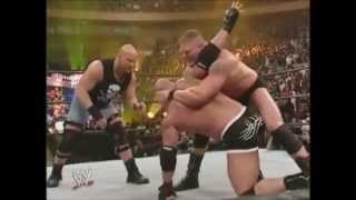 يوتيوب مصارعة جولد بيرج ضد بروك ليسنر