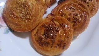 getlinkyoutube.com-رغايف معسلين على شكل شنيك (طريقة جديدة وحصرية) Rghayef façon de préparer shneck