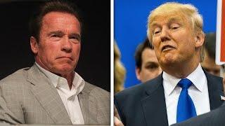 flushyoutube.com-Arnold Schwarzenegger And Trump Fight On Twitter