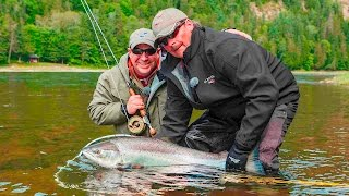 getlinkyoutube.com-Giant Atlantic Salmon | Glen Eden Lodge