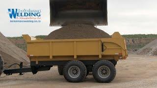 NEW! Heavy Duty 20 ton Farm / Construction Dump Trailer - Berkelmans Welding Manufacturing Inc.