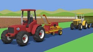 getlinkyoutube.com-Tractor For Kids - Potaoes Digging | Farm Work | Bajki Traktor | Traktory - Kopanie Ziemniaków