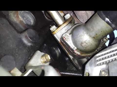 Lexus is300 thermostat o ring leak
