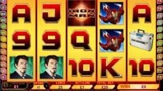 Ironman Slots £2000 Win in 5 minutes