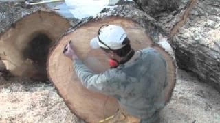 getlinkyoutube.com-cutting wood to make bowls.mov