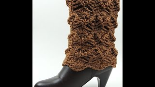 getlinkyoutube.com-Crochet : Protector de Bota