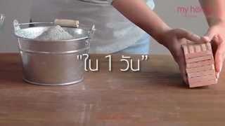 """getlinkyoutube.com-""""เปลี่ยนผนังแบบเดิมๆ ให้เป็นมุมสวยหลังบ้านใน 1 วัน"""""""
