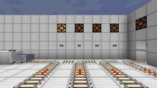 Minecraft 行き先選択式 駅システム