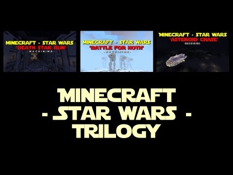 Minecraft - Star Wars - Trilogy (Machinima)