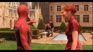 getlinkyoutube.com-Spider-man 1 (2002) - Spider-Man VS Green Goblin ( First Fight)