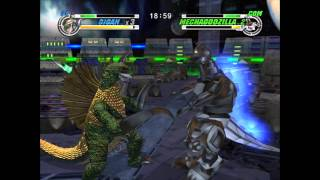 Godzilla: Destroy All Monsters Melee - Gigan VS. Mechagodzilla (XBOX)
