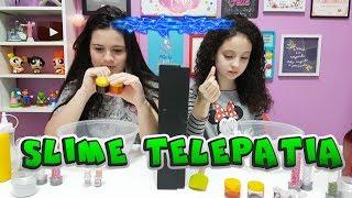SLIME POR TELEPATIA Ft. DIÁRIO DA CAROL (TELEPATHY CHALLENGE)