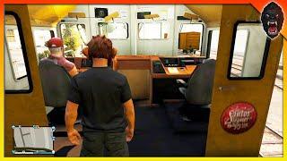 getlinkyoutube.com-GTA 5 How to Get Inside The Train (GTA 5 Ride Train)