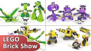 getlinkyoutube.com-Миксели 6 серия, лего фигурки все наборы сезона Lego Mixels Series 6