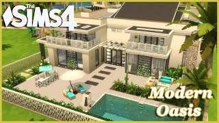 The Sims 4 - modern Oasis! (House Build)