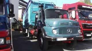 getlinkyoutube.com-Old Semi-Trailer Trucks - The Mercedes LS 1928