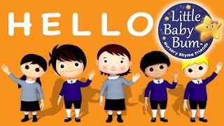 Hello Song | Nursery Rhymes | Original Song by LittleBabyBum!