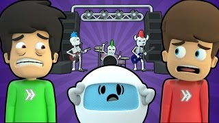 getlinkyoutube.com-ROCKIN' GUITAR BAND DEMONS FROM HELL (Super Smosh #19)