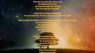 getlinkyoutube.com-His Enduring Mercy and Everlasting Love (Psalm 136)