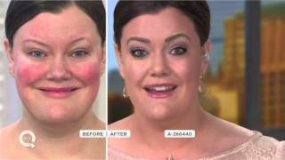 getlinkyoutube.com-IT Cosmetics Full Coverage SPF 50 CC Cream Illumination w/ Plush Brush on QVC