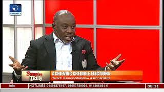 Lawmaker Explains Reason Behind Electoral Act Amendment Pt.1  Sunrise Daily 