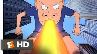 getlinkyoutube.com-Beavis and Butt-Head Do America (8/10) Movie CLIP - Buttzilla (1996) HD