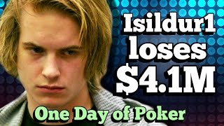The day that saw Isildur1 lose $4.1M