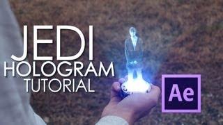 getlinkyoutube.com-After Effects Tutorial - Jedi Hologram  [Part 1]