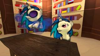getlinkyoutube.com-[SFM]: Vinyl Scratch Talks To Vinyl Scratch (feat. Nowacking)