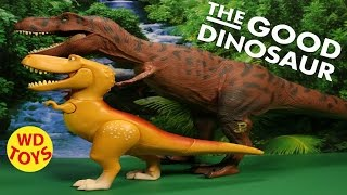 getlinkyoutube.com-Disney  The Good Dinosaur  Ramsey  Extra Large Figure  Pixar  Unboxing, Review Pixar By WD Toys