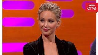 getlinkyoutube.com-Chris Pratt and Jennifer Lawrence's yearbook awards  - The Graham Norton Show 2016: Episode 9 - BBC